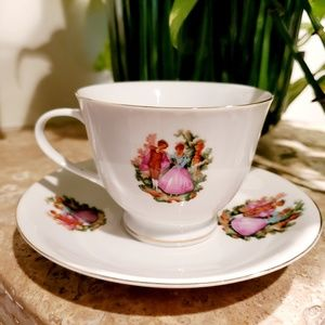 Other - Vintage 1950s Fine China Tea Cup and Saucer